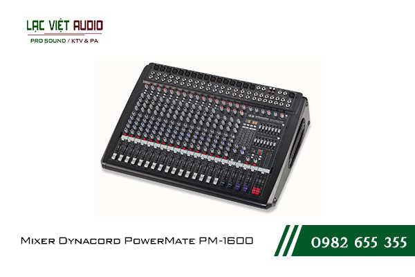 Giới thiệu về sản phẩm Mixer Dynacord PowerMate PM 1600