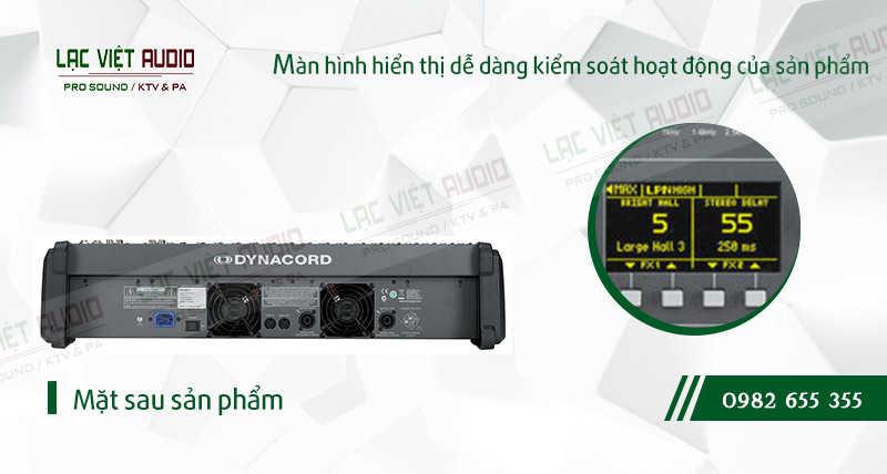 Thiết kế bên ngoài của thiết bị Mixer Dynacord PowerMate PM 1600
