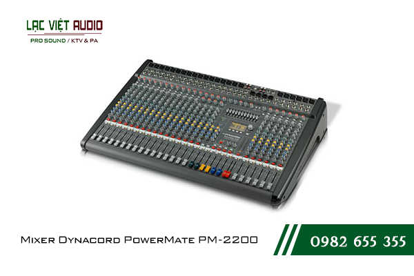 Giới thiệu về sản phẩm Mixer Dynacord PowerMate PM 2200