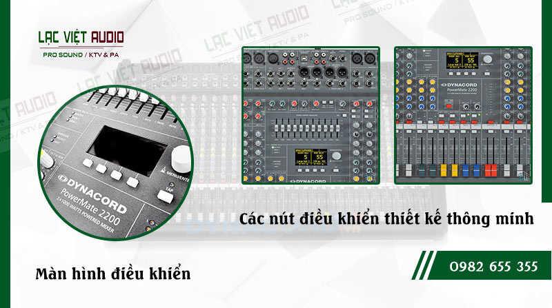 Các đặc điểm nổi bật của sản phẩm Mixer Dynacord PowerMate PM 2200