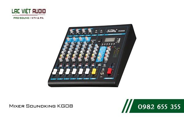 Giới thiệu về sản phẩm Mixer Soundking KG08