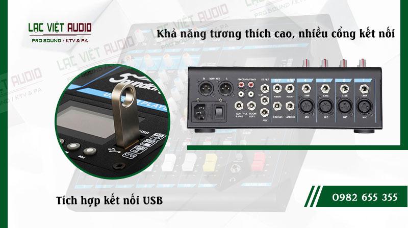 Các đặc điểm nổi bật của sản phẩm Mixer Soundking KG08