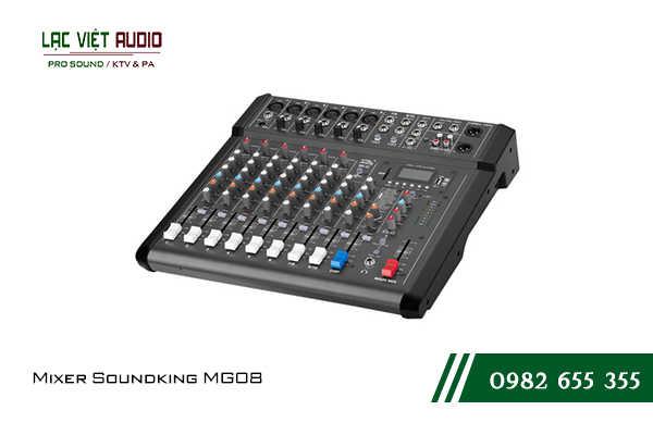 Giới thiệu về sản phẩm Mixer Soundking MG08