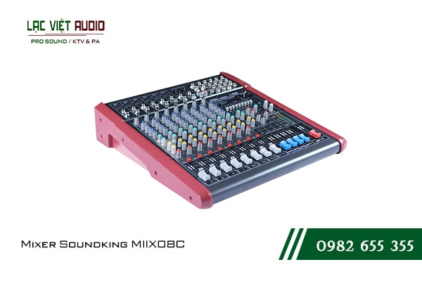 Giới thiệu về sản phẩm Mixer Soundking MIIX08C