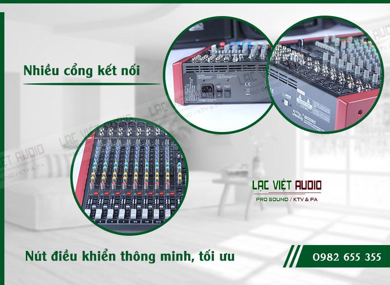 Các đặc điểm nổi bật của sản phẩm Mixer Soundking MIIX08C