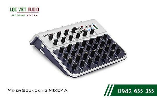 Giới thiệu về sản phẩm Mixer Soundking MIX04A