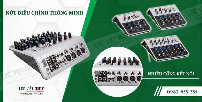 Các đặc điểm nổi bật của sản phẩm Mixer Soundking MIX04A