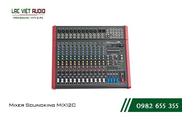 Giới thiệu về sản phẩm Mixer Soundking MIX12C