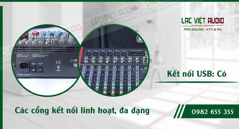 Các đặc điểm độc đáo của thiết bị Mixer Soundking MIX12C