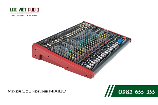 Giới thiệu về sản phẩm Mixer Soundking MIX16C