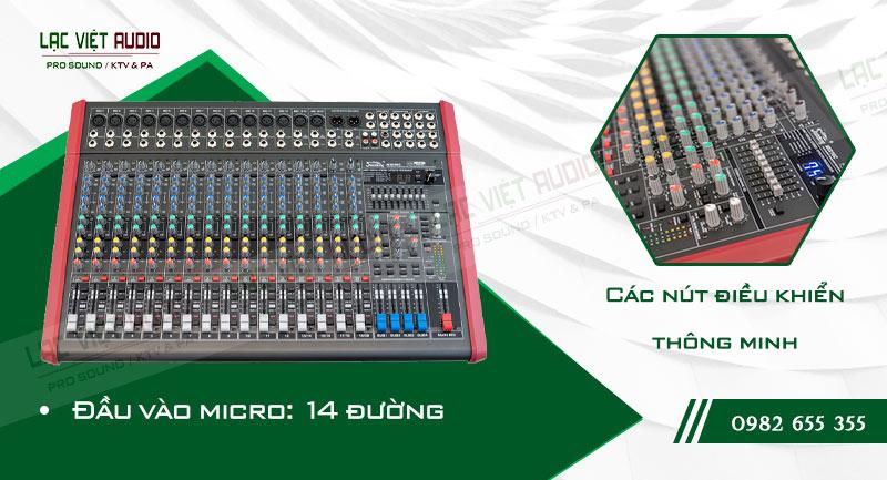 Các đặc điểm độc đáo của thiết bị Mixer Soundking MIX16C