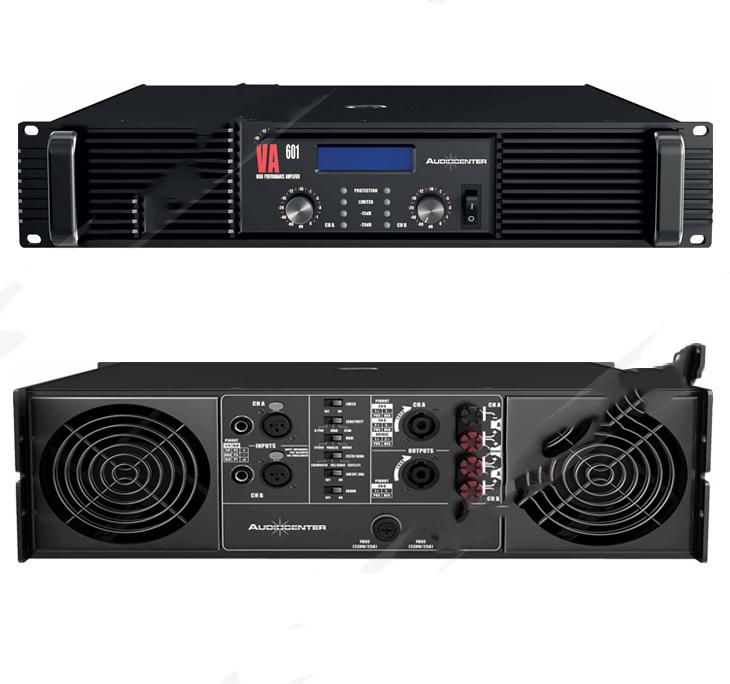 Thiết kế cục đẩy công suất Audiocenter VA 601