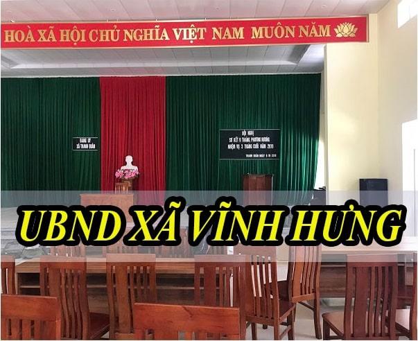 Âm thanh hội trường UBND xã Vĩnh Hưng