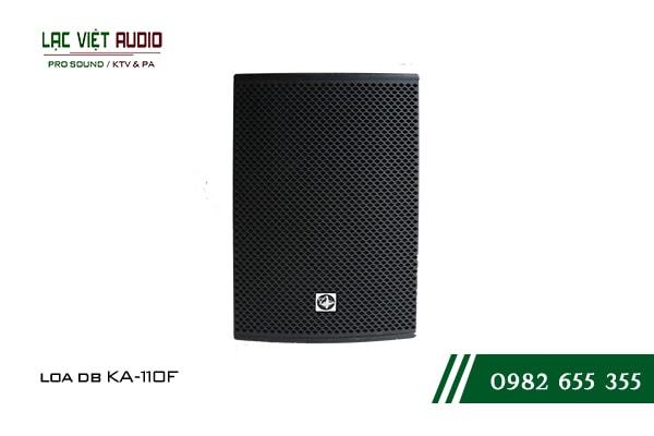 Giới thiệu về sản phẩm Loa DB KA 110F
