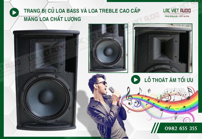 Các đặc điểm nổi bật của sản phẩm Loa DB KA 110F