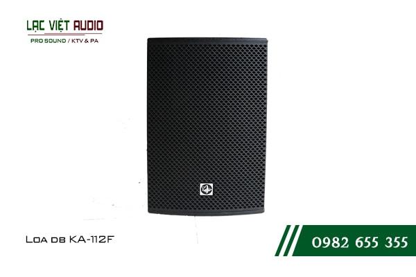 Giới thiệu về sản phẩm Loa DB KA 112F