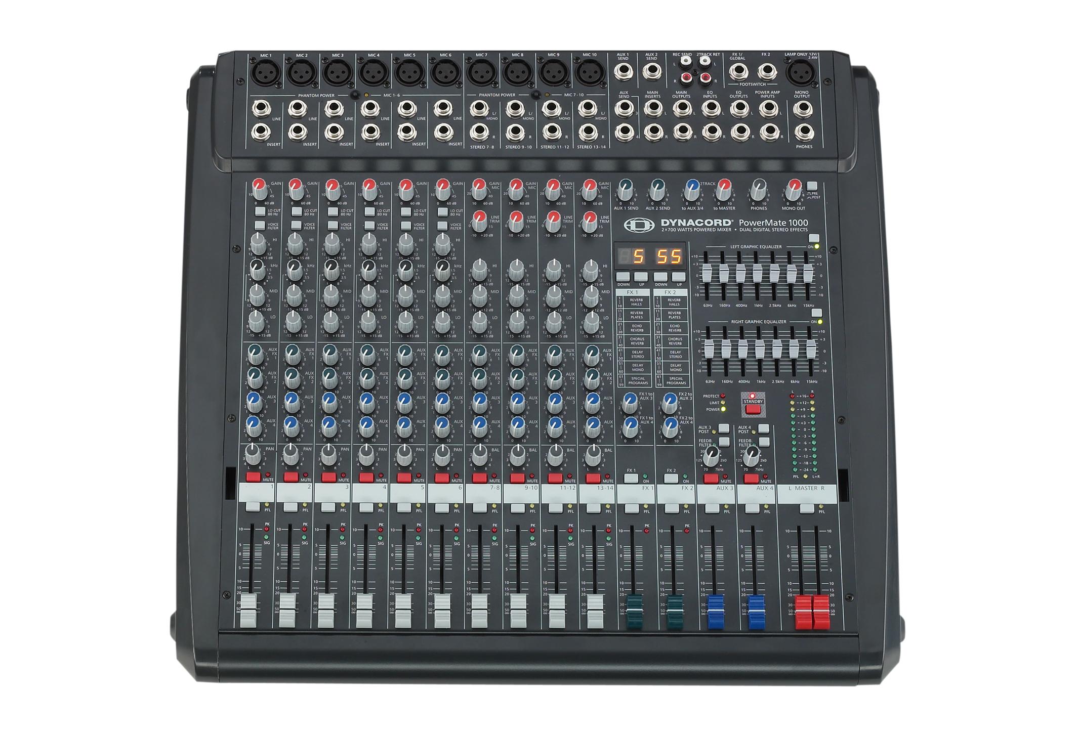 Mixer Dynacord PowerMate PM 1000