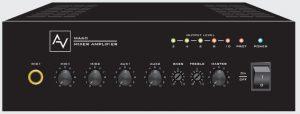 Tăng âm liền mixer thông báo AV MA 60
