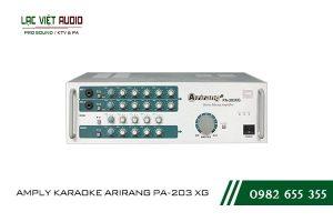Giới thiệu về thiết bịAMPLY KARAOKE ARIRANG PA-203 XG