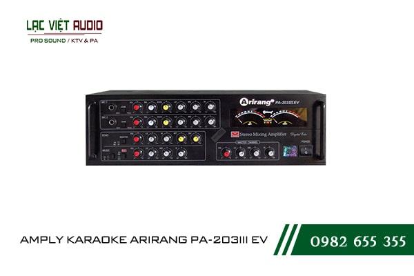 AMPLY KARAOKE ARIRANG PA-203III EV hiện đại, mạnh mẽ
