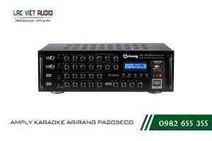 Giới thiệu về thiết bịAMPLY KARAOKE ARIRANG PA203ECO