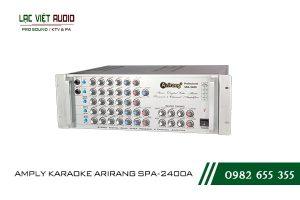Giới thiệu về thiết bị AMPLY KARAOKE ARIRANG SPA-2400A