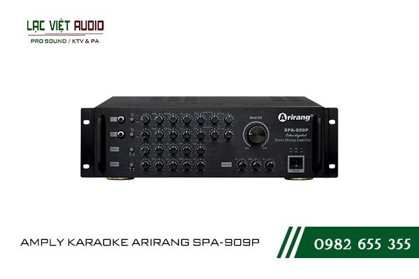 Thiết kế bên ngoài hiện đại và sang trọng củaAMPLY KARAOKE ARIRANG SPA-909P