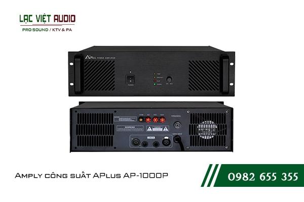 Giới thiệu về sản phẩm Amply công suất APlus AP 1000P