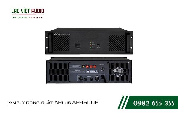 Giới thiệu về sản phẩm Amply công suất APlus AP 1500P