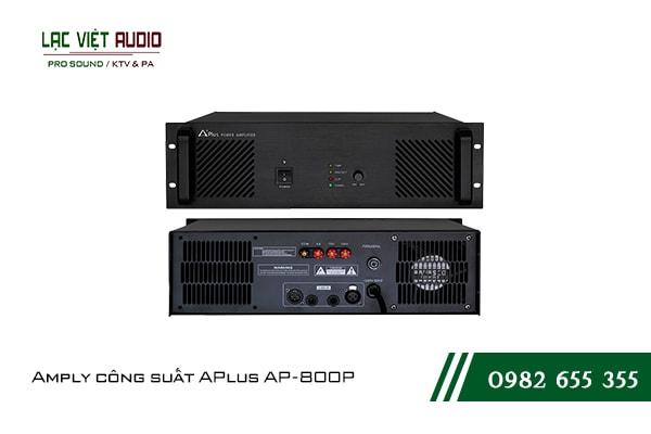 Giới thiệu về sản phẩm Amply công suất APlus AP 800P