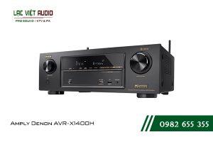 Giới thiệu Amply Denon AVR-X1400H