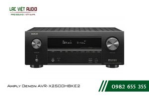 Giới thiệuAmply Denon AVR-X2500H BKE2