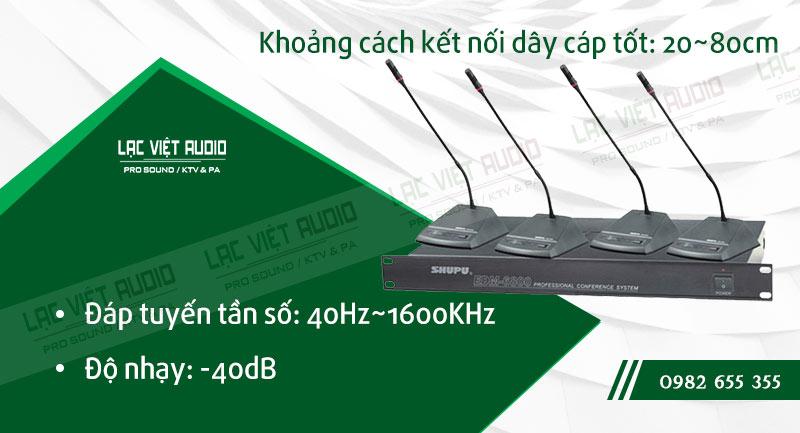 Các đặc điểm nổi bật của sản phẩm MICRO ĐẠI BIỂU SHUPU EDM 6800