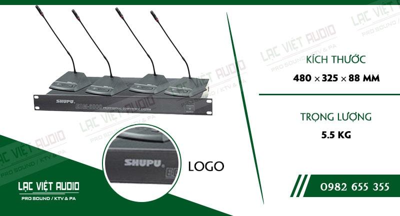 Thông số kỹ thuật của sản phẩm MICRO ĐẠI BIỂU SHUPU EDM 6800
