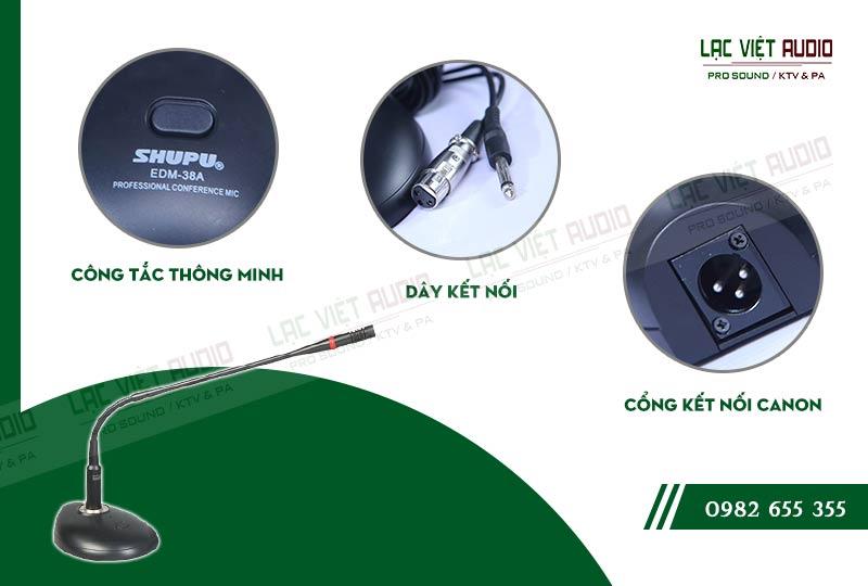 Các đặc điểm nổi bật của sản phẩm MICRO HỘI THẢO SHUPU EDM 38A