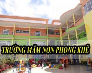 Âm thanh hội trường mầm non Phong Khê