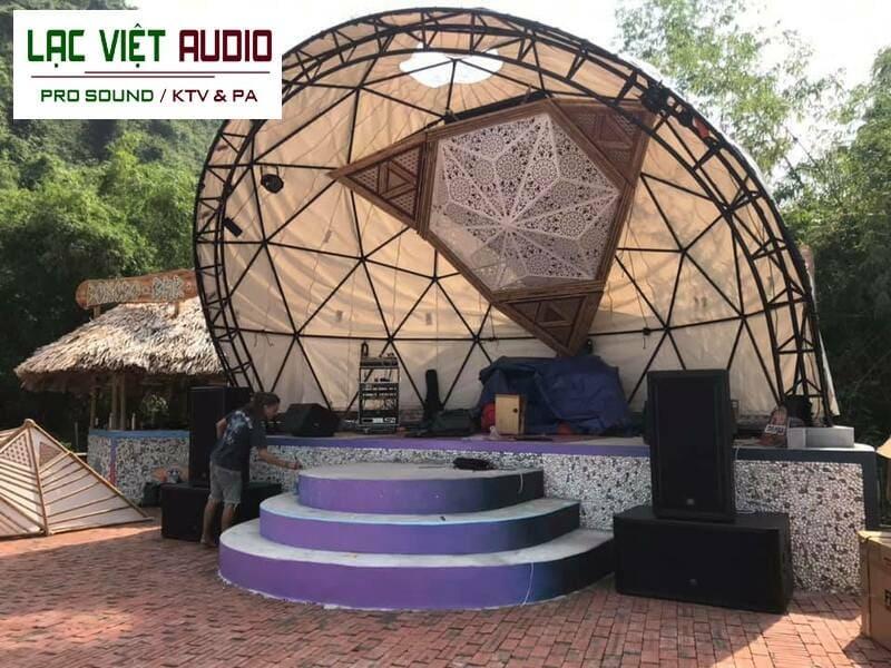 Không gian âm thanh bên ngoài của dự án