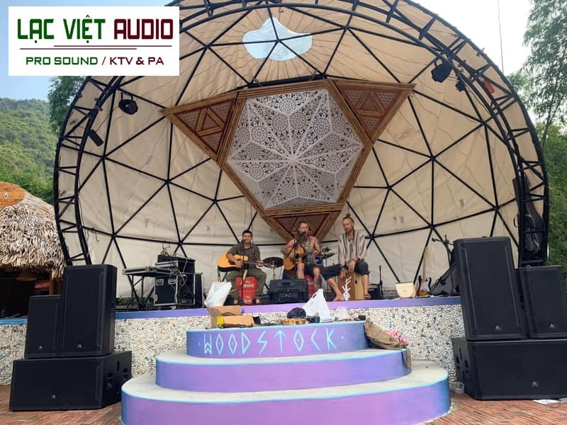 Giới thiệu về dự án âm thanh nhạc sống cho resort của anh Bảo trên đảo Cát Bà
