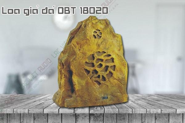 Thiết kế bên ngoài của sản phẩm Loa giả đá OBT 1802D