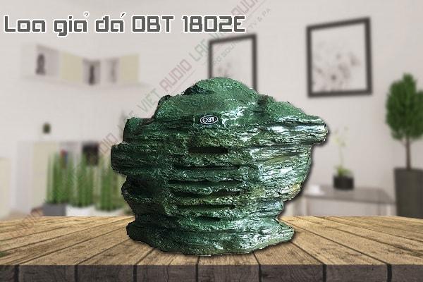 Thiết kế bên ngoài của sản phẩm Loa giả đá OBT 1802E