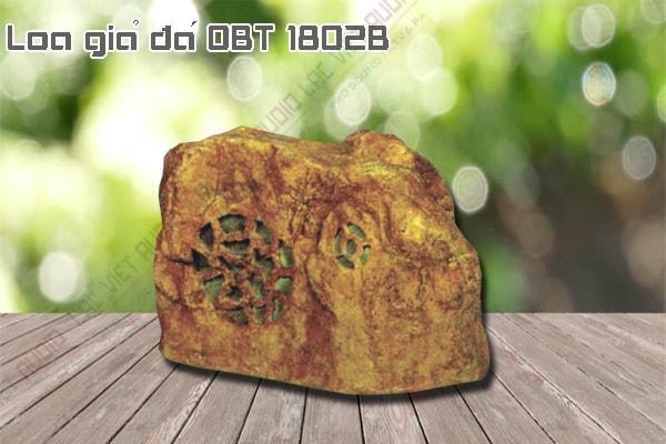 Thiết kế bên ngoài của sản phẩm Loa giả đá OBT 1802B