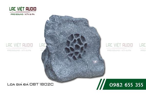 Giới thiệu về sản phẩm Loa giả đá OBT 1802C