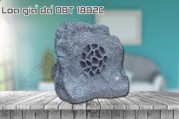 Thiết kế bên ngoài của sản phẩm Loa giả đá OBT 1802C