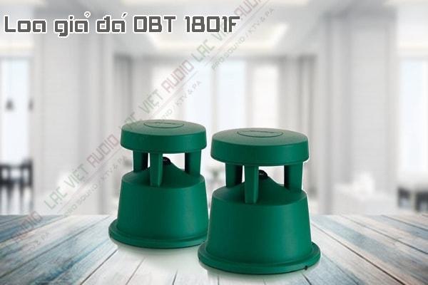 Thiết kế bên ngoài của sản phẩm Loa giả đá OBT 1801F