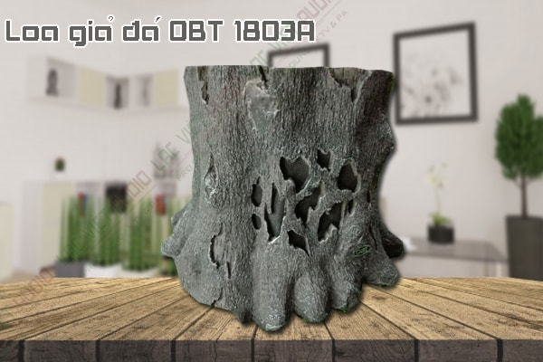 Thiết kế bên ngoài của sản phẩm Loa giả đá OBT 1803A