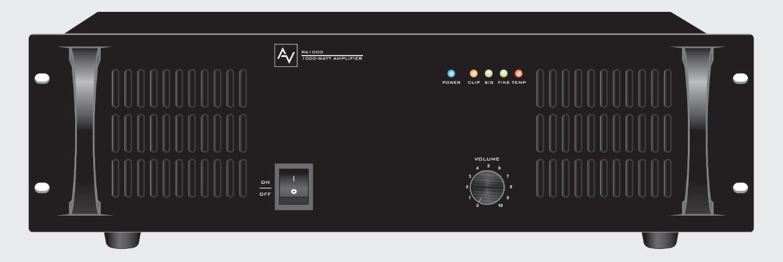 Amply AV liền mixer công suất 1000W AV PA 1000
