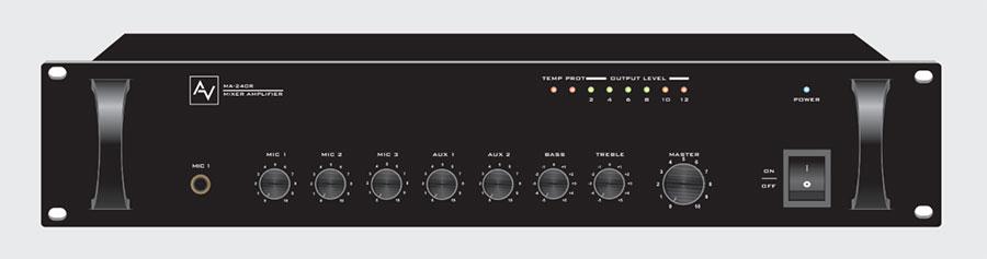 Tăng âm liền mixer 240W AV MA 240