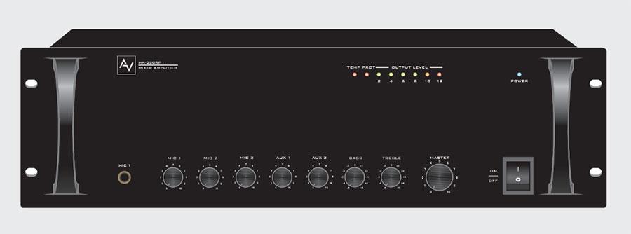 Amply thông báo 500W AV MA 500RP