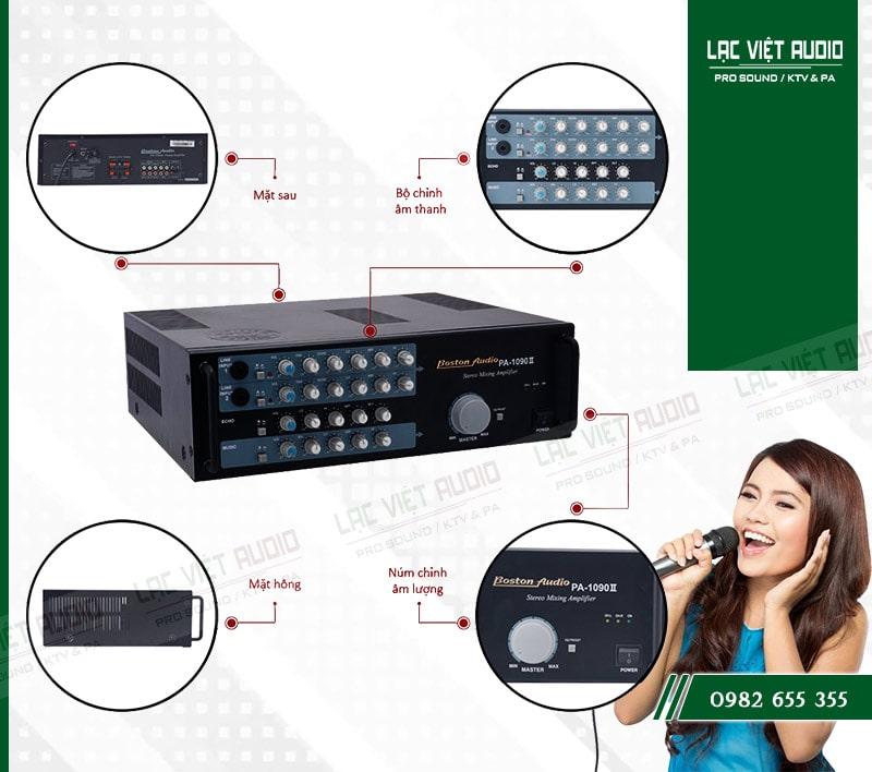 Những đặc điểm nổi bật của sản phẩm AMPLY BOSTON AUDIO PA 1090 II