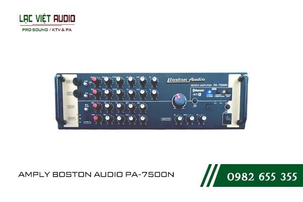 Giới thiệu về sản phẩm AMPLY BOSTON AUDIO PA-7500N